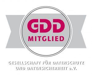 Logo GDD Mitglied - Gesellschaft für Datenschutz und Internetsicherheit e.V.